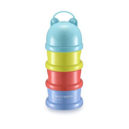 Porta Snacks e Dosador de Leite em Pó Funny Meal Multikids Baby - BB1084 BB1084