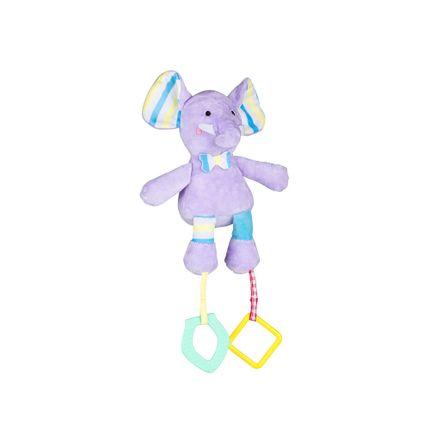 Pelúcia Com Atividades Mima Bebê Elefante Multikids Baby - BR1255 BR1255