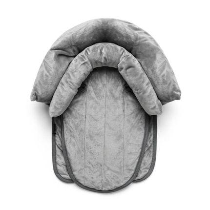 Protetor Acolchoado 2 em 1 com Almofada para Cinto de Segurança Safe Ride Preto Multikids Baby - BB1153 BB1153